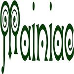 Mainiac (Spiral Text)