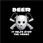 Beer Helps Stop The Voices