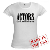 Actors do it with DRAMA