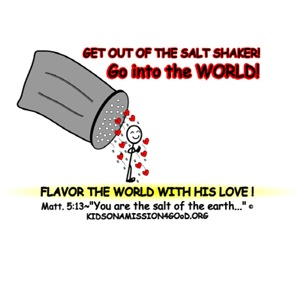 You are the Salt