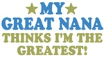 My ___ Thinks I'm The Greatest!