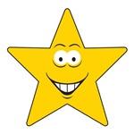 Star Smiley Face