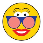 Cool Chic Sunglasses Smiley Face