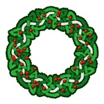 Celtic Holly Wreath