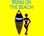 BRING ON THE BEACH!  W - YELLOW