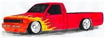 Truck with Flames