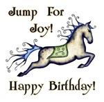 Jump for joy! Happy Birthday!
