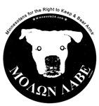 Molon Labe (dog head)