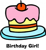 Birthday Girl! Cupcake T Shirts and Gifts