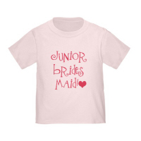 Junior Bridesmaid Wedding T Shirts Hip Grafitti