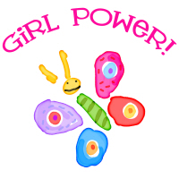 Girl Power Funky Butterfly T-Shirts Gifts