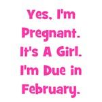 Pregnant w/ Girl due February