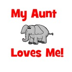 My Aunt Loves Me! w/elephant