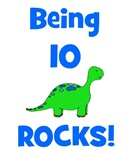 Being 10 Rocks! Dinosaur
