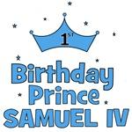 1st Birthday Prince Samuel IV!