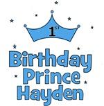 1st Birthday Prince Hayden!