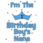 1st Birthday Boy's Nana!