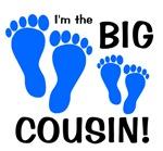 Big Cousin Baby Footprints