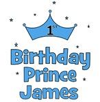 1st Birthday Prince JAMES!