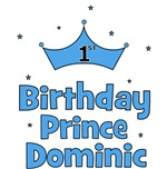 Dominic - 1st Birthday Prince