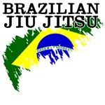 Brazilian Jiu Jitsu shirts: Flag