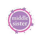 pink & purple middle sister