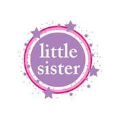 pink & purple little sister