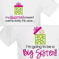 i'm going to be a big sister christmas