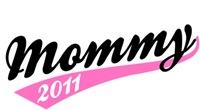 Mommy Team T-shirt 2011 black