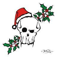 Santa Skull!