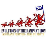Rampant Lion Evolution