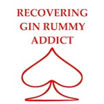 funny gin rummy joke on gifts and t-shirts.