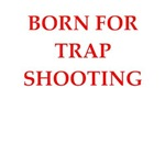 funny trap shooting joke on gifts and t-shirts.