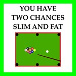 billiards joke on gifts and t-shirts.