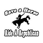 Save Horse, Ride Republican