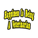 Happiness is Being a Veterinarian