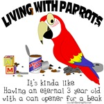 Living With Parrots - Can Opener