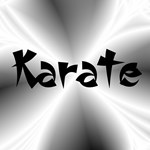 Silver Karate Gifts and Cards