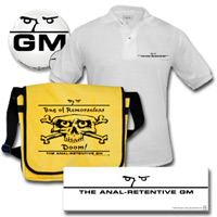 The Anal-Retentive GM