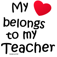 28. My Heart Belongs to My Teacher...