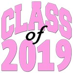 Class of 2019 pink