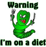 I'm on a Diet Caterpillar Design
