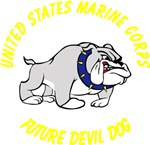 USMC Future Devil Dog Design - Yellow