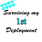 USCG Wife Surviving 1st Deployment Design