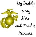 Hero Daddy Princess Daughter Design