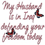 Husband Defending Freedom Today