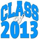 Class of 2013 (blue)