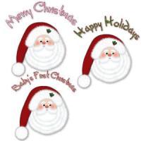 Merry Christmas Santa Claus T-Shirts Apparel & Gif