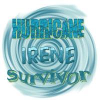 Hurricane Irene Waves Survivor T-Shirts, Apparel a