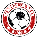 England Soccer (distressed)